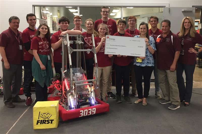 Destrehan Robotics Wins Grant!