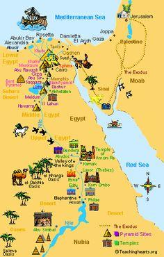 Chaney Charlette Ancient Egypt Part - Map of egypt nubia