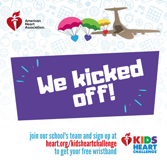 Kids Heart Challenge has Officially Started!