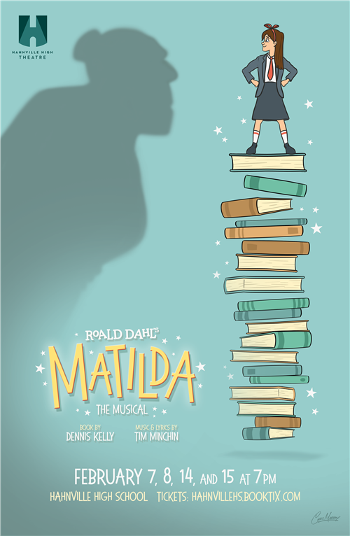 HHS is very happy to announce two school day performances of Roald Dahl's Matilda the Musical!