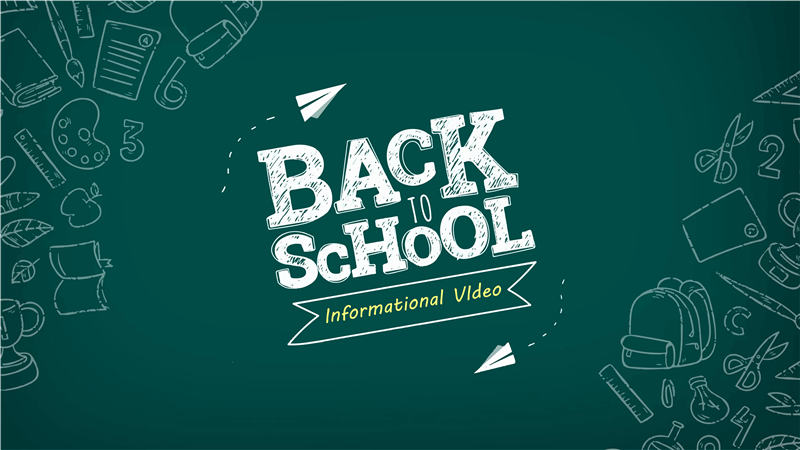 2019 Back To School Information Video