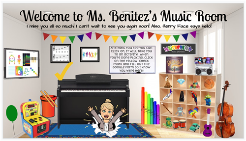 Ms. Benitez's Virtual Classroom