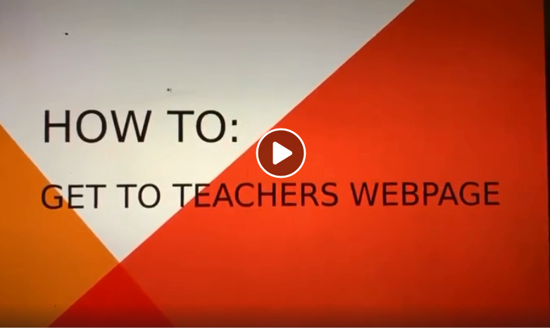 Directions for Getting to NES Teacher/Team Webpages