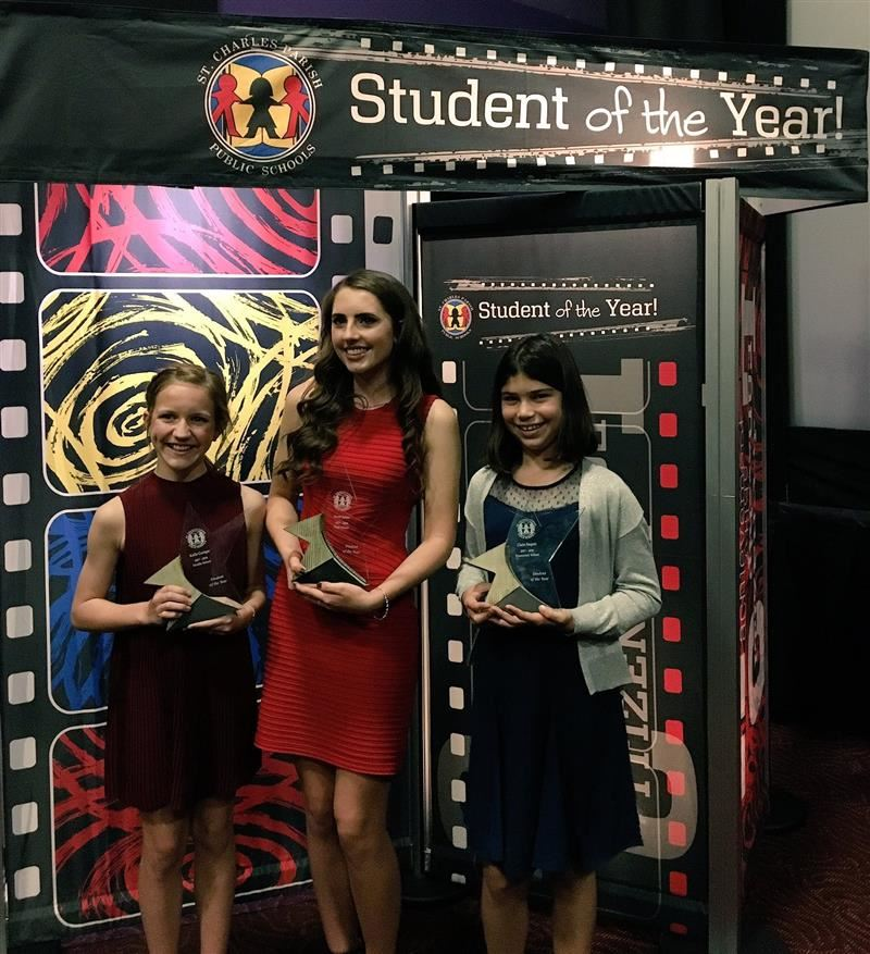 SCPPS Student of the year is...