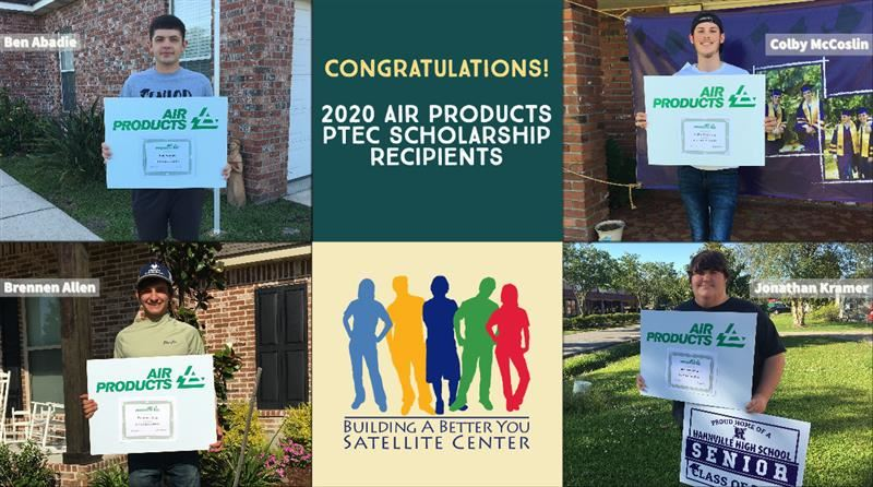 Air Products Scholarship Recipients