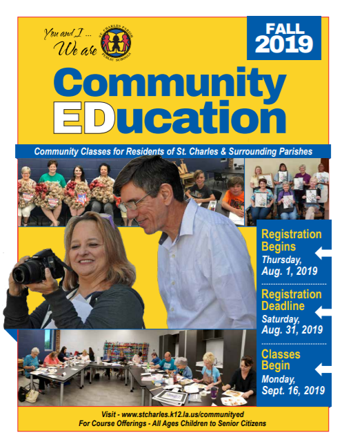 Sign Up Now For Fall Community Ed Classes